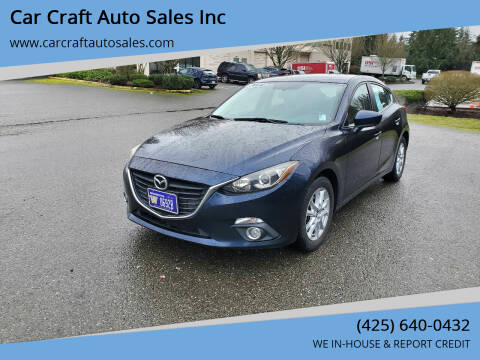 2014 Mazda MAZDA3 for sale at Car Craft Auto Sales Inc in Lynnwood WA