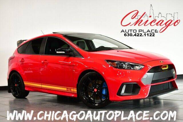 2018 Ford Focus for sale at Chicago Auto Place in Bensenville IL