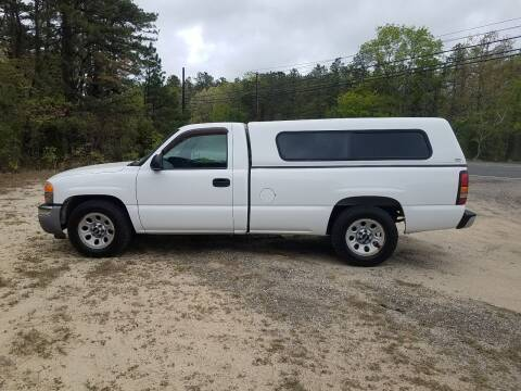 2007 GMC Sierra 1500 for sale at MIKE B CARS LTD in Hammonton NJ
