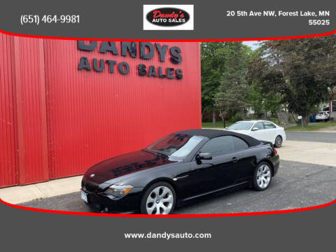 2005 BMW 6 Series for sale at Dandy's Auto Sales in Forest Lake MN