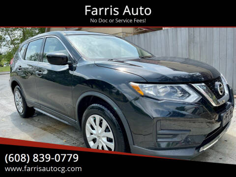 2017 Nissan Rogue for sale at Farris Auto - Main Street in Stoughton WI