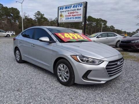 2017 Hyundai Elantra for sale at Nu-Way Auto Ocean Springs in Ocean Springs MS