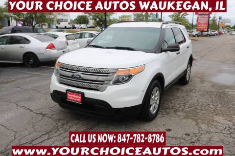 2013 Ford Explorer for sale at Your Choice Autos - Waukegan in Waukegan IL