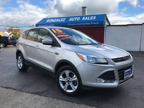 2015 Ford Escape for sale at Gonzalez Auto Sales in Joliet IL