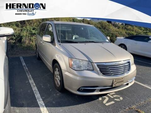 2012 Chrysler Town and Country for sale at Herndon Chevrolet in Lexington SC