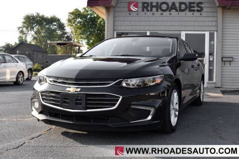 2017 Chevrolet Malibu for sale at Rhoades Automotive in Columbia City IN