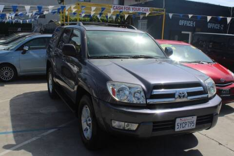 2005 Toyota 4Runner for sale at Good Vibes Auto Sales in North Hollywood CA