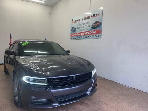2018 Dodge Charger for sale at Antonio's Auto Sales - Antonio`s  2206 in Pasadena TX