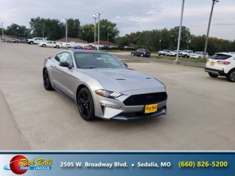 2021 Ford Mustang for sale at RICK BALL FORD in Sedalia MO