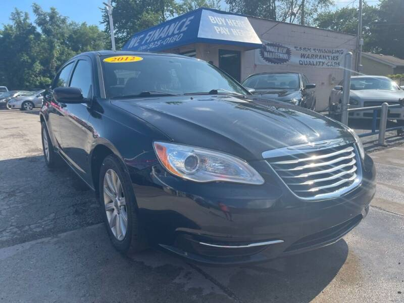2012 Chrysler 200 for sale at Great Lakes Auto House in Midlothian IL