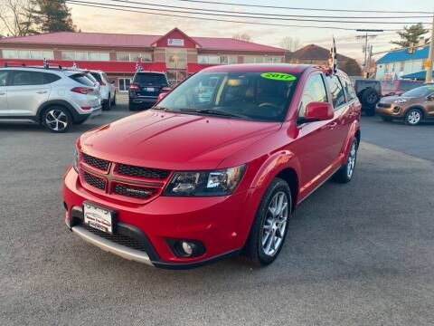 2017 Dodge Journey for sale at Sisson Pre-Owned in Uniontown PA