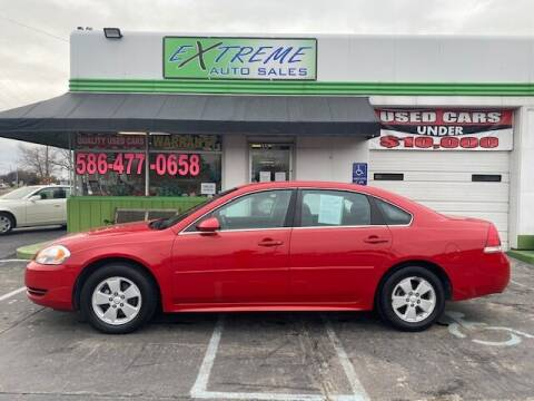 2012 Chevrolet Impala for sale at Extreme Auto Sales in Clinton Township MI