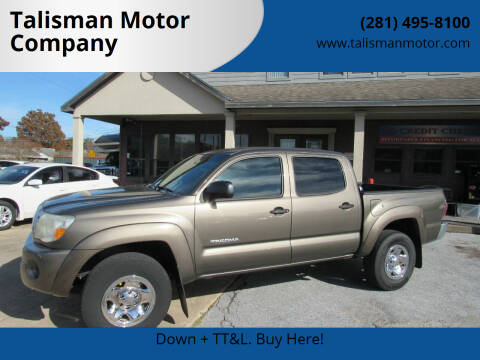 2011 Toyota Tacoma for sale at Talisman Motor Company in Houston TX