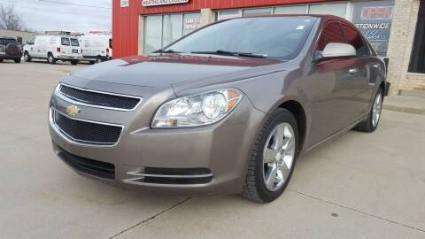 2012 Chevrolet Malibu for sale at Nationwide Auto Works in Medina OH