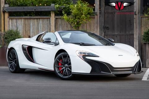 2015 McLaren 650S Spider for sale at Veloce Motorsales in San Diego CA