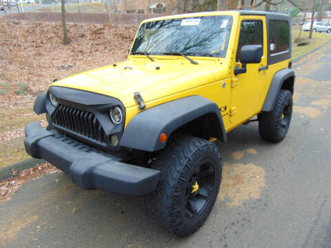 2008 Jeep Wrangler for sale at Lakewood Auto in Waterbury CT