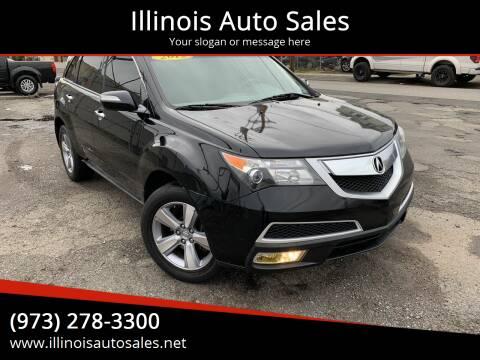 2012 Acura MDX for sale at Illinois Auto Sales in Paterson NJ