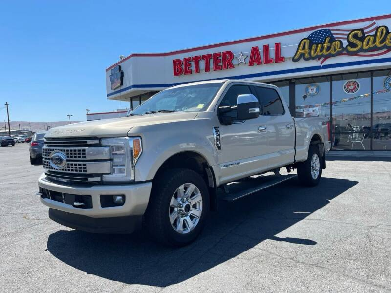 2018 Ford F-250 Super Duty for sale at Better All Auto Sales in Yakima WA