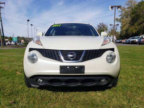 2011 Nissan JUKE for sale at Techno Motors in Danbury CT