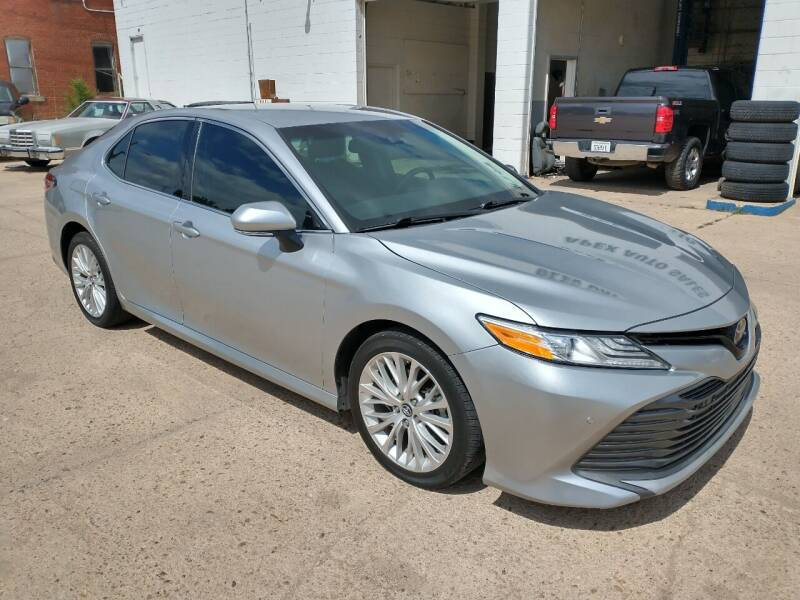 2018 Toyota Camry for sale at Apex Auto Sales in Coldwater KS