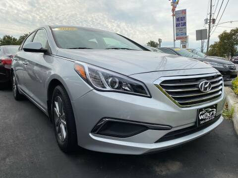 2016 Hyundai Sonata for sale at WOLF'S ELITE AUTOS in Wilmington DE