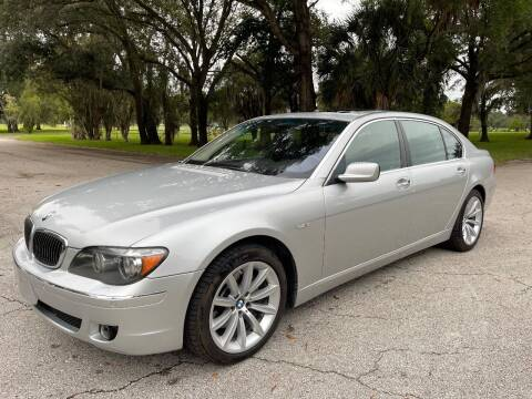 2008 BMW 7 Series for sale at ROADHOUSE AUTO SALES INC. in Tampa FL