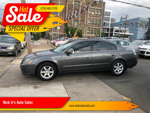 2006 Nissan Altima for sale at Nick Jr's Auto Sales in Philadelphia PA