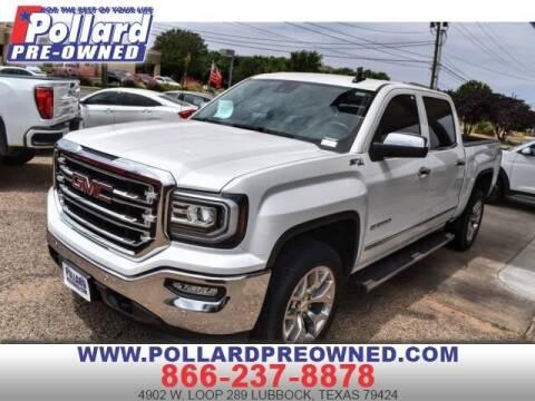 2018 GMC Sierra 1500 for sale at South Plains Autoplex by RANDY BUCHANAN in Lubbock TX