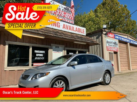 2010 Toyota Corolla for sale at Oscar's Truck Center, LLC in Houston TX