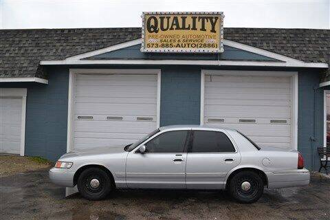 1999 Mercury Grand Marquis for sale at Quality Pre-Owned Automotive in Cuba MO