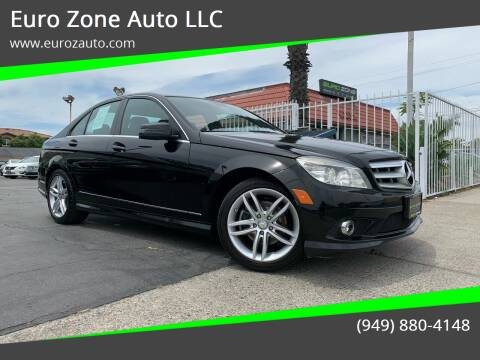 2010 Mercedes-Benz C-Class for sale at Euro Zone Auto in Stanton CA