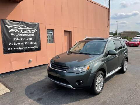2008 Mitsubishi Outlander for sale at ENZO AUTO in Parma OH