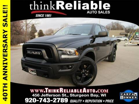 2020 RAM Ram Pickup 1500 Classic for sale at RELIABLE AUTOMOBILE SALES, INC in Sturgeon Bay WI