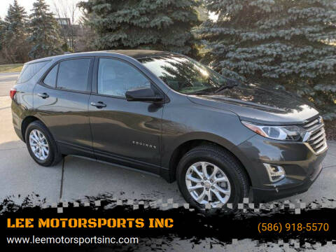 2019 Chevrolet Equinox for sale at LEE MOTORSPORTS INC in Mount Clemens MI