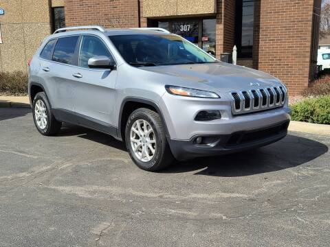 2015 Jeep Cherokee for sale at Mighty Motors in Adrian MI