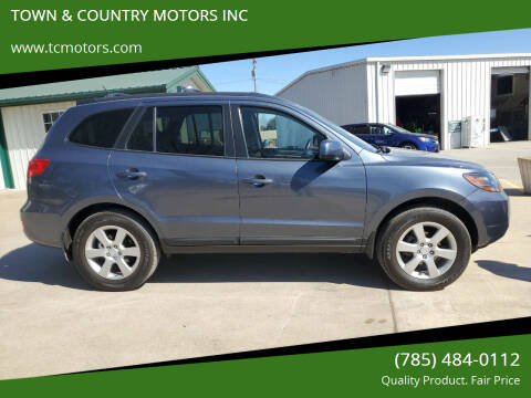 2009 Hyundai Santa Fe for sale at Town & Country Motors Inc. in Meriden KS