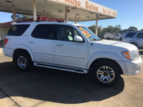 2004 Toyota Sequoia for sale at BROWNSFIELD AUTO SALES in Baton Rouge LA