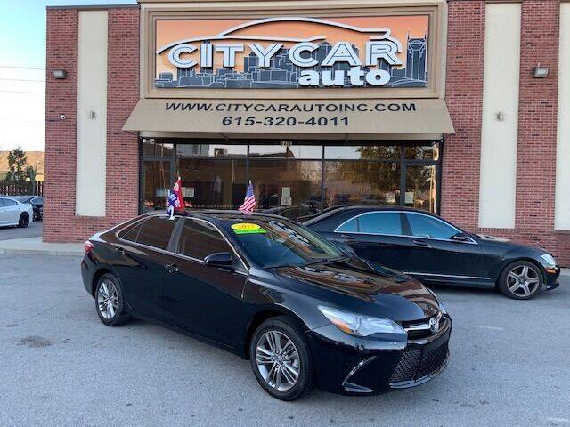 2017 Toyota Camry for sale at CITY CAR AUTO INC in Nashville TN