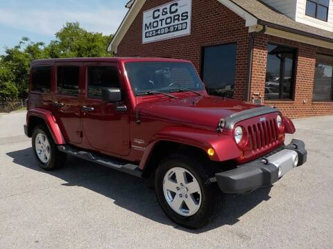 2011 Jeep Wrangler Unlimited for sale at C & C MOTORS in Chattanooga TN