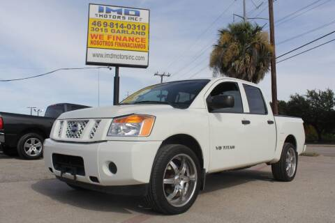 2015 Nissan Titan for sale at Flash Auto Sales in Garland TX