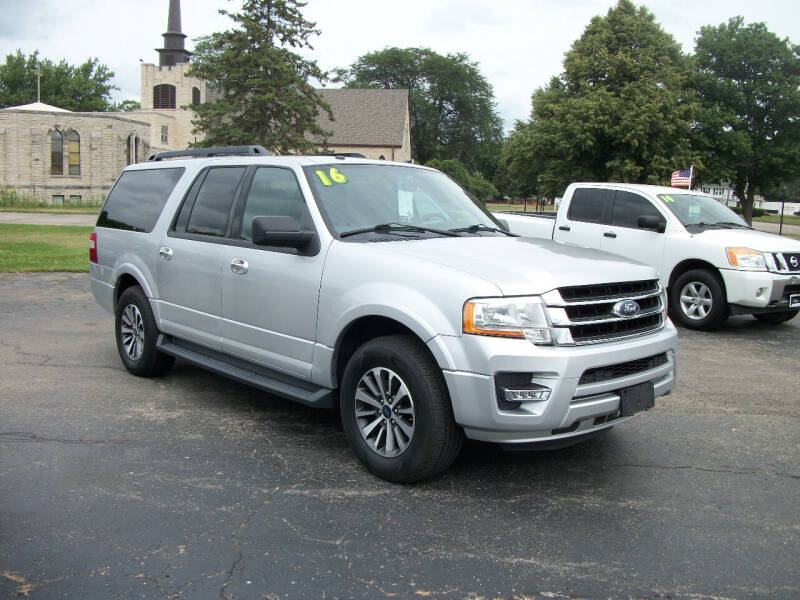 2016 Ford Expedition EL for sale at USED CAR FACTORY in Janesville WI