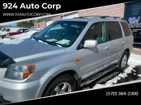 2006 Honda Pilot for sale at 924 Auto Corp in Sheppton PA