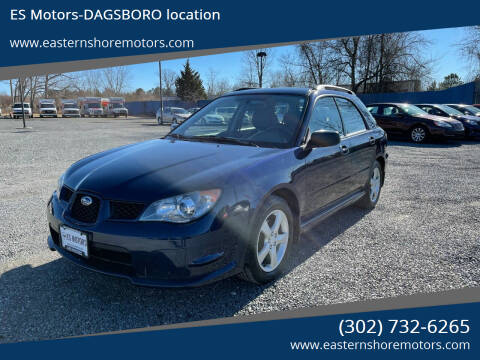 2006 Subaru Impreza for sale at ES Motors-DAGSBORO location in Dagsboro DE
