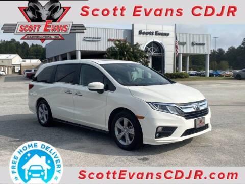 2019 Honda Odyssey for sale at SCOTT EVANS CHRYSLER DODGE in Carrollton GA
