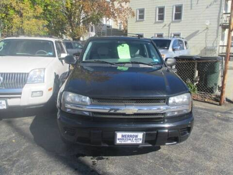 2007 Chevrolet TrailBlazer for sale at MERROW WHOLESALE AUTO in Manchester NH