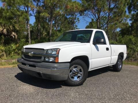 2004 Chevrolet Silverado 1500 for sale at VICTORY LANE AUTO SALES in Port Richey FL