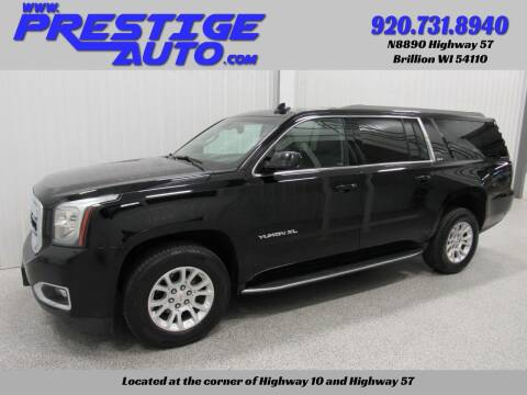2017 GMC Yukon XL for sale at Prestige Auto Sales in Brillion WI