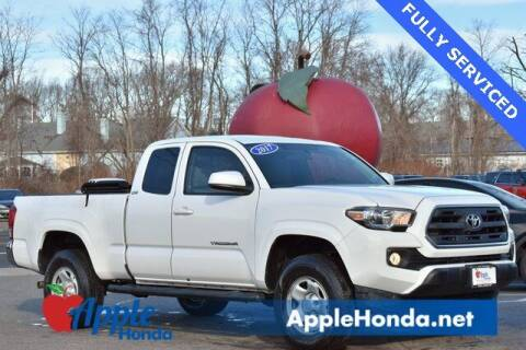 2017 Toyota Tacoma for sale at APPLE HONDA in Riverhead NY