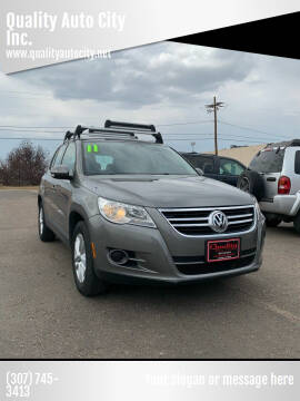 2011 Volkswagen Tiguan for sale at Quality Auto City Inc. in Laramie WY