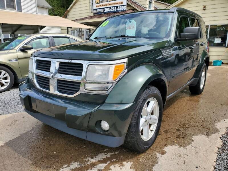 2010 Dodge Nitro for sale at Auto Town Used Cars in Morgantown WV